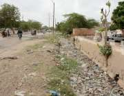 کراچی : مون سون کی بارشوں کی پیشن گوئی ہے جبکہ کورنگی دھوبی گھاٹ کی مین ..