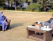 اسلام آباد، وزیراعظم عمران خان سے وفاقی وزیر ڈاکٹر فہمیدہ مرزا ملاقات ..