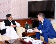 اسلام آباد: وفاقی وزیر مملکت اور سرحدی خطے ، صاحبزادہ محمد محبوب سلطان ..