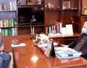 اسلام آباد، وزیر خارجہ شاہ محمود قریشی سے پاکستان کے سفیر برائے سوڈان ..