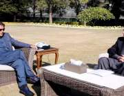 اسلام آباد، وزیراعظم عمران خان سے رُکن اسمبلی شیراز محمود ملاقات کر ..