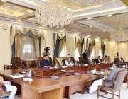 اسلام آباد: وزیراعظم عمران خان کی زیر صدارت کوویڈ 19 پر بریفنگ۔