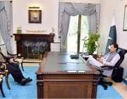 اسلام آباد: ایم این اے  فضل محمد خان نے وزیر اعظم عمران خان سے ملاقات ..