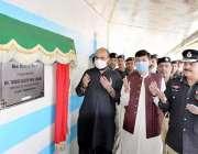 پشاور، وزیر صحت تیمور جھگڑا سنٹرل جیل میں قیدیوں کیلئے نئے خصوصی وارڈ ..
