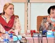 اسلام آباد، وفاقی وزیر برائے انسانی حقوق شیریں مزاری معذور بچوں کیلئے ..