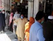 راولپنڈی شہری بنی کے علاقہ میں مصالہ جات کی دکانوں کے باہر بغیر فاصلہ ..