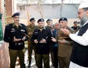 لاہور:آئی بی پنجاب شعیب دستگیر ٹر یفک سیکٹر نیوانارکلی کے دفتر کے افتتاح ..