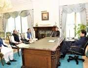 اسلام آباد: وزیراعظم عمران خان کو ایف پی سی آئی کے صدر میاں انجم نثار ..