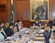 لاہور، صدر عارف علوی گورنر ہائوس میں پاکستان انسٹی ٹیوٹ آف فیشن اینڈ ..