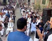 راولپنڈی، رُکن قومی اسمبلی شیخ راشد شفیق عباسی ٹائون میں ترقیاتی کاموں ..