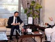 پشاور، وزیراعلی خیبرپختونخوا محمود خان سے عالمی بینک کے کنٹری ڈائریکٹر ..
