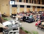 لاہور:صوبائی وزیر زراعت ملک نعمان لنگڑیال لاہور کالج فار ویمن یونیورسٹی ..