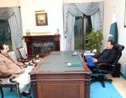 اسلام آباد: وزیر اعظم عمران خان سے پنجاب کے وزیر مواصلات و تعمیرات سردار ..