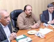 لاہور: وزیر زراعت پنجاب ملک نعمان لنگڑیال کورو ناوائرس کے حوالے سے ..