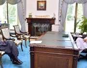 اسلام آباد: وزیراعظم عمران خان سے ایس اے پی ایم محمد شہزاد ارباب نے ..