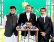 اسلام آباد: وزیر مملکت برائے پارلیمانی امورعلی محمد خان الیکشن کمیشن ..