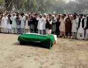 وہاڑی، لاہور میں مبینہ تشدد سے جاں بحق ہونےو الے کسان اتحاد کے رہنما ..