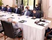 اسلام آباد، وزیراعظم عمران خان سے مینوفیکچررز کا وفد ملاقات کر رہا ..