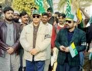 لاہور: آئی جی جیل خانہ جات پنجاب مرزا شاہ سلیم بیگ اور ڈی آئی جی جیل ..