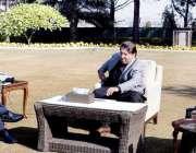 اسلام آباد، وزیراعظم عمران خان سے گورنر خیبرپختونخوا شاہ فرمان اور ..