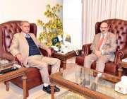 مظفرآباد: محمد ظفر خان ، سکریٹریزکوة ، اور منصوبہ بندی و ترقیات نے صدر ..