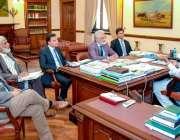 لاہور: گورنر پنجاب چوہدری محمدسرور سے یونیورسٹی آف ہیلتھ سائنسز لاہور ..