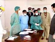 اسلام آباد: اجلاس شروع ہونے سے قبل ڈپٹی اسپیکر قومی اسمبلی قاسم خان ..