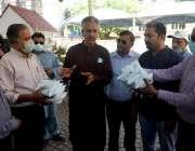 کراچی، میئر وسیم اختر کراچی، پریس کلب کے عہدیداروں کو فیلڈ میں کام ..