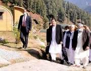سوات، وزیراعظم عمران خان گبین جبہ میں سیاحوں کیلئے بنائے گئے نئے کیمپنگ ..