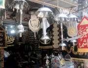 راولپنڈی: دکاندار نے محرم الحرام کے حوالے سے علم اور تعزیے فروخت کیلئے ..