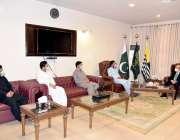 مظفرآباد: قائم مقام صدر جناب مہران معروف کی سربراہی میں ایک وفد ، صدر ..