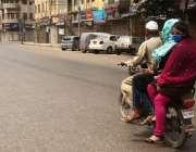 کراچی، شہری کورونا وائرس کے باعث لاک ڈائون میں تعاون نہیں کر رہے اور ..