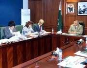 اسلام آباد: جے آئی سی اے کے وفد نے سیکریٹری سمندری امور رضوان احمد سے ..