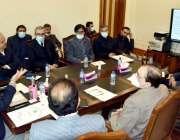 کوئٹہ، وزیراعلی بلوچستان جام کمال خان کو پبلک پرائیویٹ پارٹنر شپ بل ..