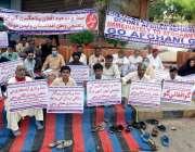 کراچی: کمشنرافتخار شالوانی معروف فلاحی تنظیموں کے اجلاس کی صدارت کر ..
