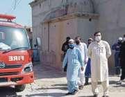 بنوں، ایڈیشنل اسسٹنٹ کمشنر امین اللہ خان کورونا وائرس سے متاثرہ مریض ..