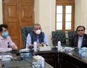 بہاولپور: بہاولپور کمشنر آفس میں وزیر خوراک عبدالعلیم خان محکمہ خوراک ..