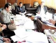 مظفر آباد : چیف سیکرٹری آزادکشمیر مطہررانا کوٹلی ڈوپلپمنٹ پیکج کے حوالے ..
