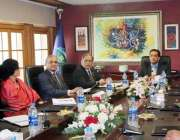 اسلام آباد: سی ڈی او ، این ڈی آر ایم ایف بریفنگ مشیر برائے موسمیاتی تبدیلی ..