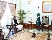 اسلام آباد: ڈپٹی اسپیکر قومی اسمبلی ، محمد قاسم خان سوری اور ایم این ..