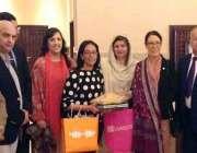 اسلام آباد: سابق ڈپٹی سپیکر شاہن کوثر دڈارکا برطانوی پارلمینٹرین اور ..