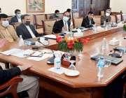 پشاور، وزیراعلی خیبرپختونخوا محمود خان ماربل سٹی پراجیکٹ سے متعلق ..