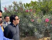 اسلام آباد: پاکستان پیپلز پارٹی کے چیئرمین بلاول بھٹو زرداری پیپلز ..