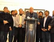 لاہور : صوبائی وزیرقانون راجہ بشارت الحمراء میں یوم یکجہتی کشمیر کے ..