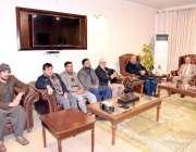 مظفرآباد: صدر آزاد جماعتی مہاجرین کونسل مسٹر حامد جمیل کی سربراہی میں ..