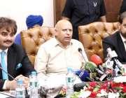 لاہور : گورنر پنجاب چوہدری محمد سرور لاہور چیمبر آف کامرس اینڈ انڈسٹری ..