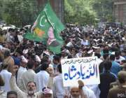 لاہور: پاکستان مسلم لیگ (ن) کے صدرمحمد شہبازشریف اور پنجاب اسمبلی میں ..