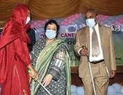 اسلام آباد، وفاقی وزیر برائے انسانی حقوق شیریں مزاری سفید چھڑی کے عالمی ..