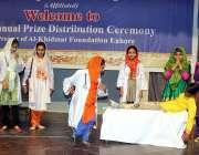 لاہور: الخدمت فاؤنڈیشن کے زیر اہتمام الحمرا آرٹس کونسل میں اہتمام کی ..