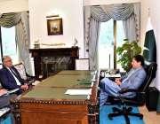 اسلام آباد: وزیراعظم عمران خان سے ایم این اے غوث بخش خان مہر نے ملاقات ..